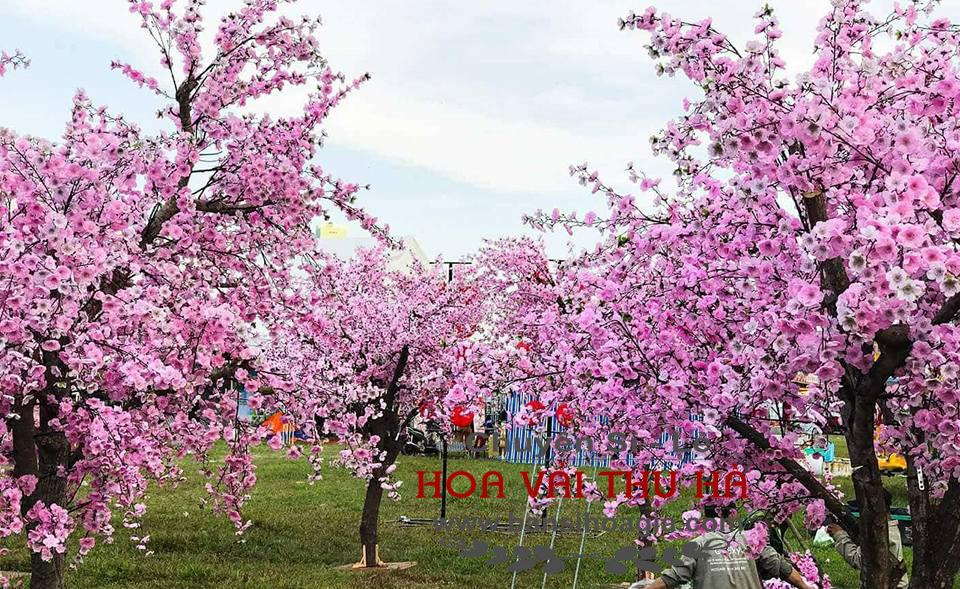 Bán cây hoa đào giả đẹp